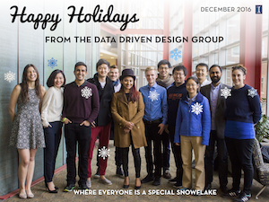 Join the Data-Driven Design Group